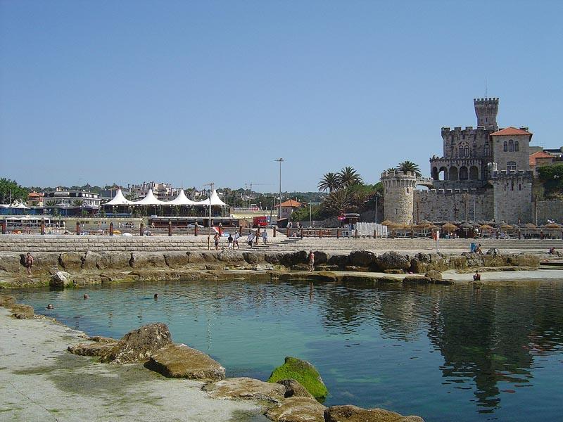 Playa do tamariz estoril for Piscinas naturales en portugal