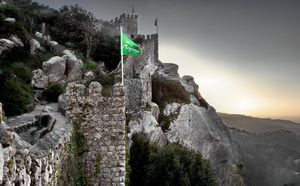 The Moorish Castle, Sintra, Portugal