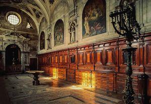 Interior Catedral (Sé)de Lisboa, Lisboa, Portugal