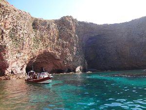 Tour en barco por Peniche, Portugal